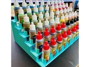 modular soporte miniatura pinturas cepillos Ejército pintor pintar cepillo soporte vallejo