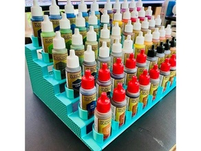 modular holder miniature paints brushes army painter paint brush holder vallejo