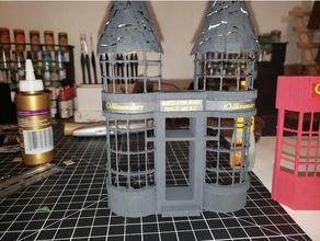 Olivander Zauberstab Geschäft 1 35 Rahmen Schaufenster