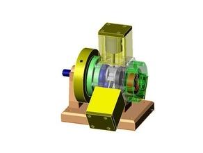 radial 3 cylinder steam engine