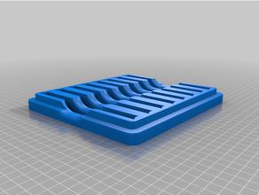 couvercle espace rangement grille affûtage calcul ensemble affûtage calcul espace rangement boîte pierre aiguiser boîte