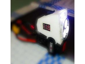 Facile lampe poche RANGEMENT vélo lumière camping DIY facile impression facile impression électronique lampe poche maison LED leds LED lumière LED monter support soutiens Extérieur éclairage puissant xt60