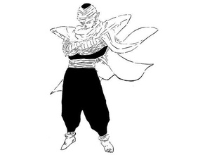 dbz piccolo stencil 2 anime anime character coffee stencil dbz dragonball dragonball models dragonball super dragonball dragon ball dragon ball super dragon ball manga namek namekian piccolo stencil