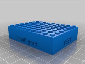 personalizado Lego compatible texto ladrillos personalizado