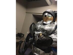 sergy body guard halo industries paglia paglia industries robot robot body guard robot soldier