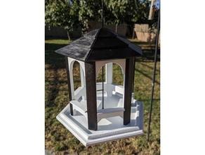 gazebo bird feeder birdfeeder birdhouse bird feeder bird feeders bird house gazebo small bird feeder
