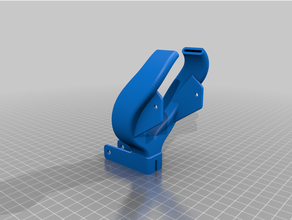 reverse smooth-ish fang duct ender3 cr-10 micro swiss direct drive cooler cooling cooling duct cr-10 creality creality cr-10 creality ender 3 direct drive direct drive extruder ender3 hotend micro swiss cooler