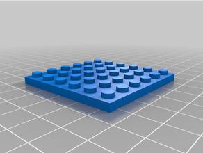 Lego 2 6x6 personalizado