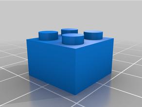 4x4 Lego ladrillo personalizado