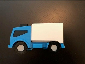 max truck - shorty - box accessory toy truck