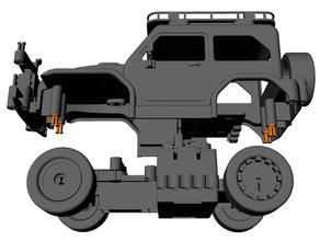 cuerpo alfiler 3dprinting coche vehiculo Lego técnica microbit rc coche vehiculo robótica vástago