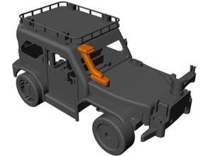 Chimenea 3d impresión coche vehiculo Lego técnica microbit rc coche vehiculo robótica vástago