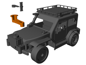 servo cuerno adaptador 3d impresión coche vehiculo Lego técnica microbit rc coche vehiculo robótica vástago