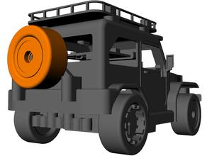 tonto rueda 3d impresión coche vehiculo Lego técnica microbit rc coche vehiculo robótica vástago