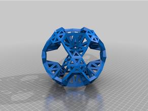 convexoctahedral8v p70 p70 p80 p80 p50 3 11 17 39 45 convexe géodésique octaédrique