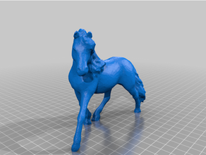 scanned horse easy print easy easy print easy print horse horses painted photogrammetry photogrammetry scan toy