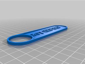 personalizado personalizador etiqueta etiqueta engañar llavero marcador placa personalizado