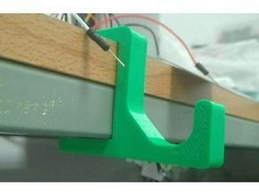 Aufhänger Haken Labor Tabelle Schutzmaske Kopfhörer Kopfhörer Halter Unterstützung Haken Labor Maske Mehrzweck einfach klein Tabelle