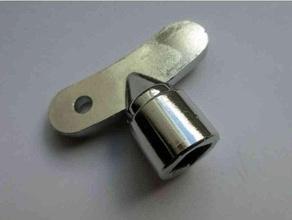 exterior grifo llave 6mm cuadrado