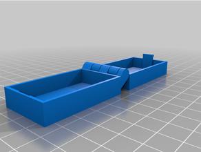 personnalisé articulé boîte loquet paramétrique imprimable personnalisé