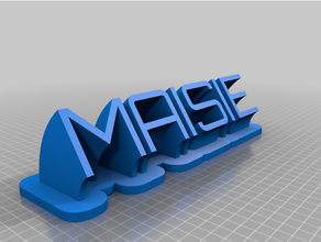 maisie plate customized