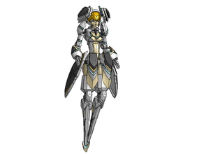 notes - 1 12 scale phantasy star online 2 female cast action figure frame arms girl phantasy star online robot