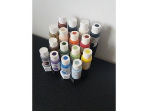 modular paint holder 59ml bottles holder modular organizer paint painting