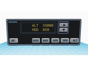 bendix kap140 autopilota pannello volo simulazione aereo autopilota design generale aviazione