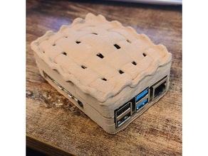 Frais cuit framboise pi 4 Cas gaine correspond 100x100x100mm imprimante labistes x1 framboise pi 4 Cas gaine