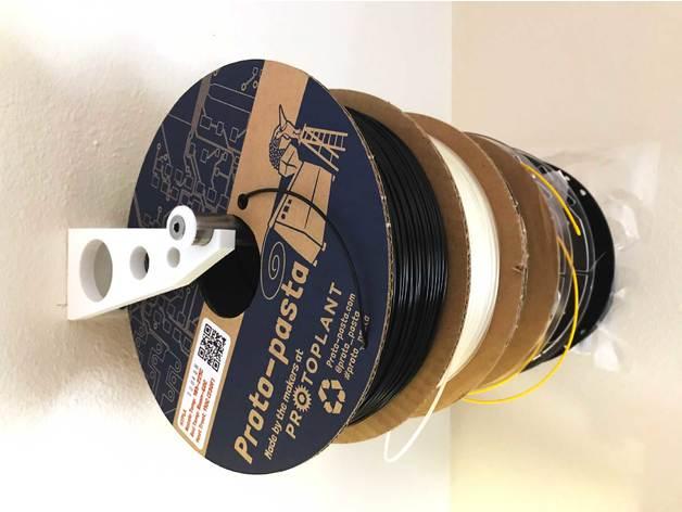 wall-mounted filament rac