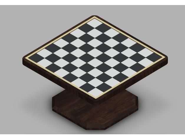 modular chess board small