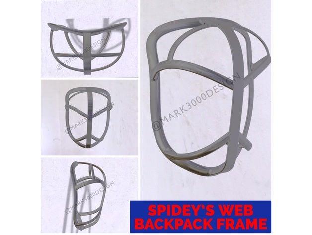 spider-man web backpack f