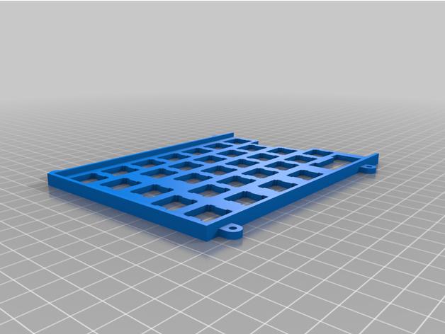 ts65 iso plate keyboard m