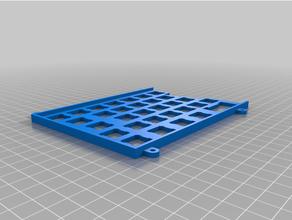 ts65 iso plate keyboard mechanical keyboard plate