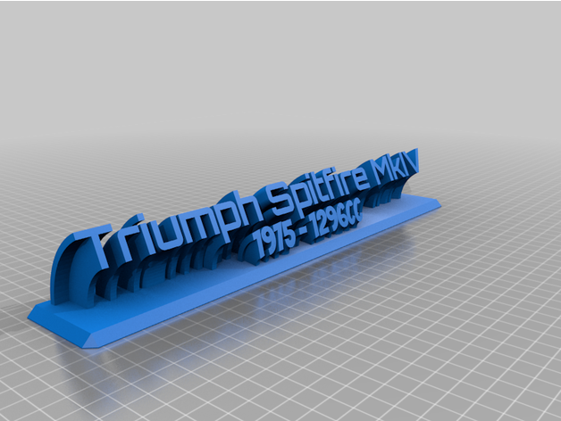 triumph customized