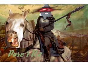 todesreiter pose 1 v2 panzerspear cavalry dkok