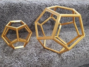 dodecahedron wireframe centerpiece cool difficult dodecahedron fine frame geo geometric geometric wireframe geometry good luck math supports stress stress test wedding wire wireframe wireframe geometry