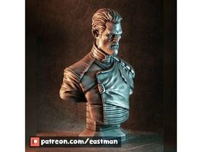 admiral gord bust original admiral bust character content eastman elf fiction gord original original content science scifi warrior