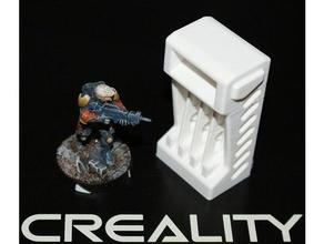 scatter terrain panoply weapon locker infinity  locker panoply scatter scifi terrain wargaming weapon