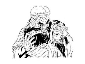 demon slayer stencil 5 anime demonslayer demon slayer kamado manga nezuko nezuko kamado sakonji urokodaki stencil tengu
