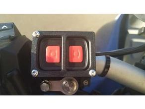 motorcycle dashcam button mount handlebar button dashcam dashcam mount handlebar motorcycle mount
