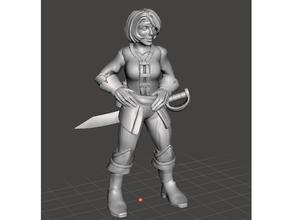 tilly brackett female human pirate pathfinder pirate wormwood