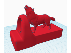 wolf apple watch charging stand apple apple watch apple watch charger apple watch charging apple watch dock apple watch stand charging dock direwolf display stand dock docking station stand wolf wolf cub wolf cubs
