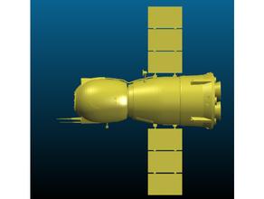soyuz spacecraft - export cgtrader russian russian spacecraft soyuz soyuz-apollo soyuz class space spacecraft spaceship space vehicle