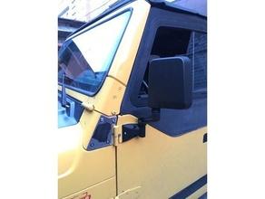 jeep tj mirror bracket jeep jeep tj jeep wrangler tj mirror mirror bracket mirror mount wrangler