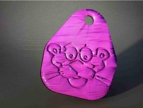 pink panther keychain cartoon idealab keychain keychains pink pink panther pinky