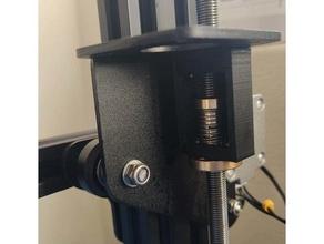 anti backlash nut adapter ender 3 tr8 based printers height loss 8mm antibacklash anti backlash cr-10 creality creality ender 3 ender 3 threaded rod tr8 tr8 anti-backlash