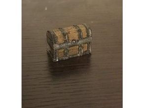 chest chest dnd dnd prop dungeons dragons fantasy furniture miniature miniature chest prop treasure treasure chest wooden wooden chest