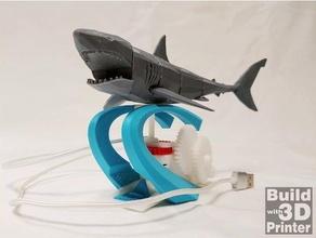 motorized shark shark animal automata automatic automaton fish mechanical mechanical toy robot shark robotshark sea sea animal shark shark toy sharktoy swimming swimming shark toy