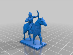 late antiquity - sassanid heavy cavalry 20mm 25mm archer cavalry cavalry archer commander historical mace medieval persian standard bearer tabletop tabletop gaming wargaming